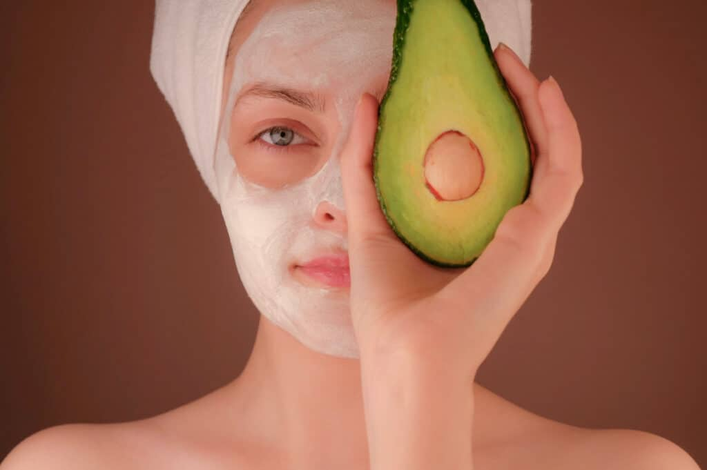 face mask spa day relaxation