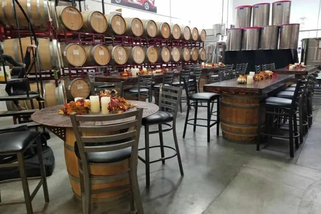 wine cellar venue in vegas