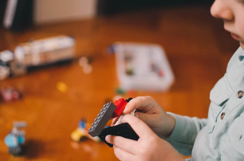 adoption party ideas legos