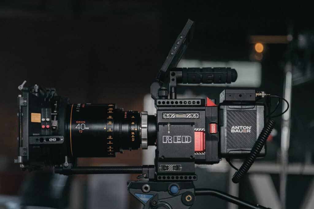 filmmaking anamorphic lens equipment