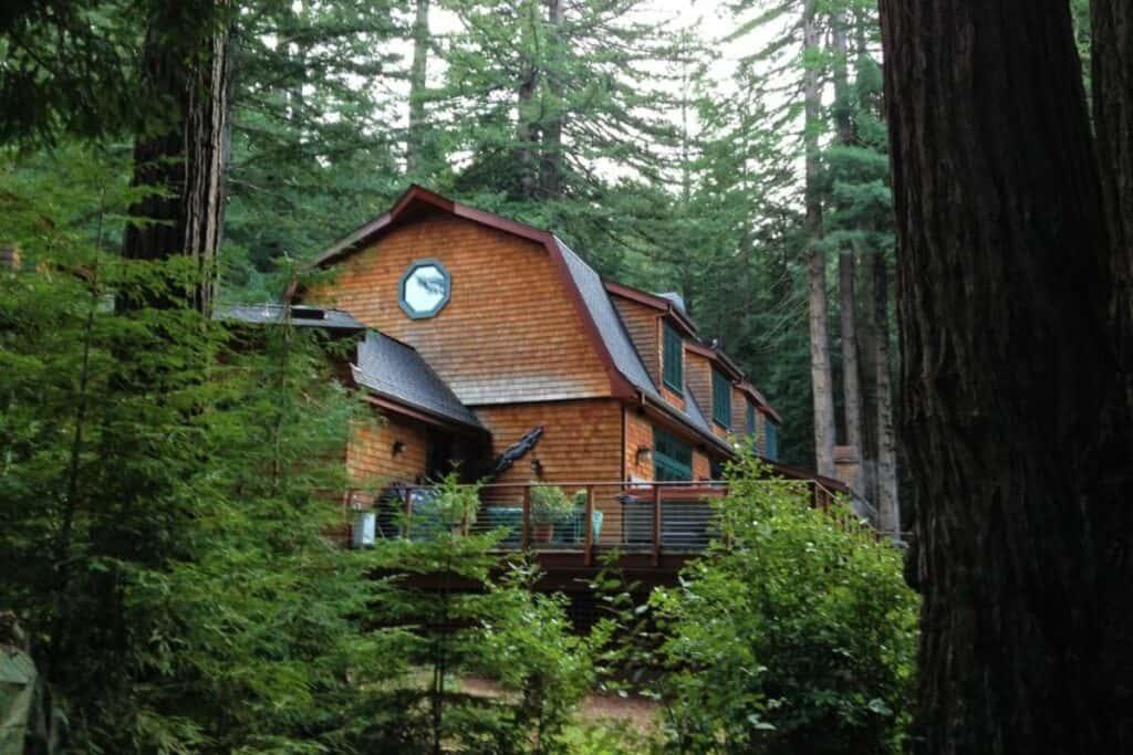 santa cruz cabin in the woods