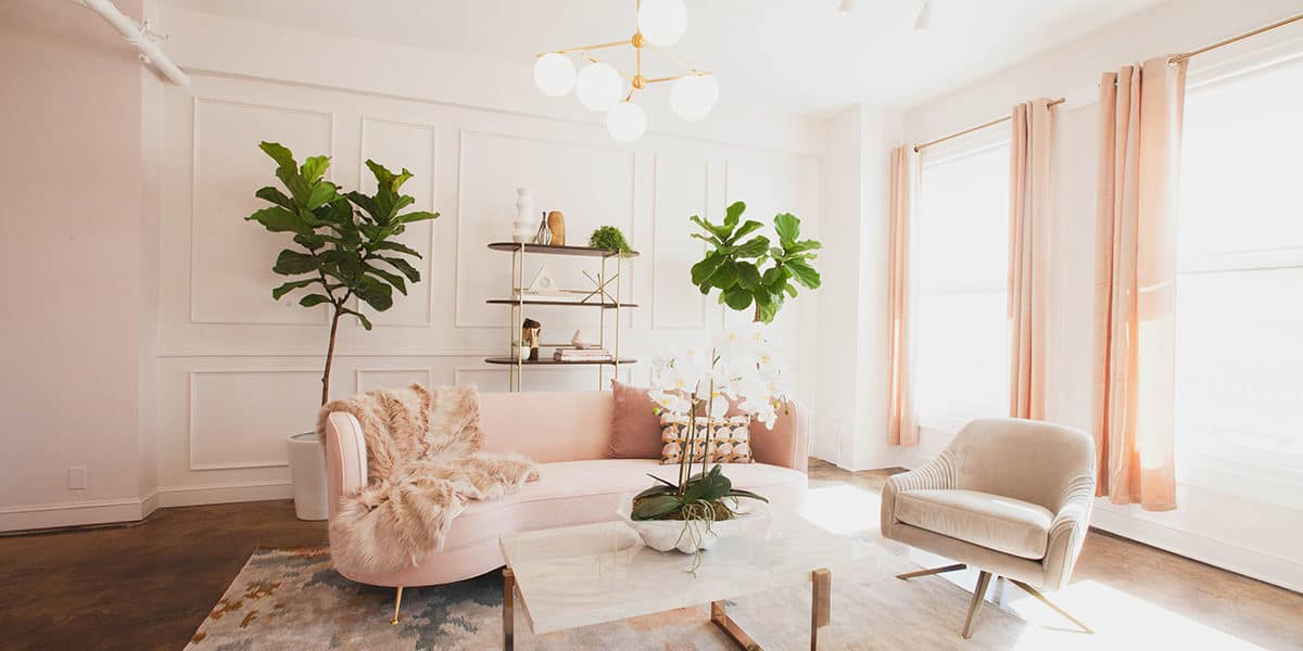 Luxurious and feminine photo shoot location for rent in Los Angeles