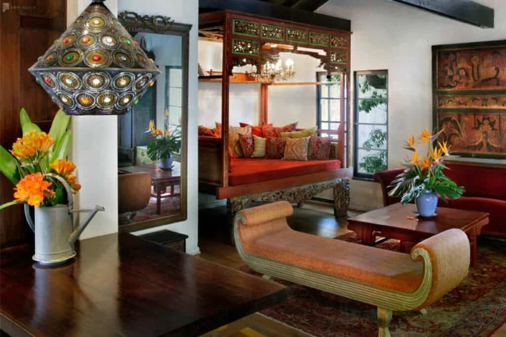 exotic bungalow in LA