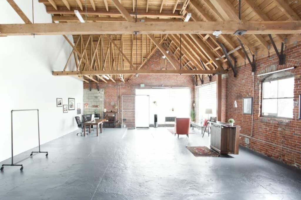 renovated church industrial style Cheap Wedding Venues near Los Angeles