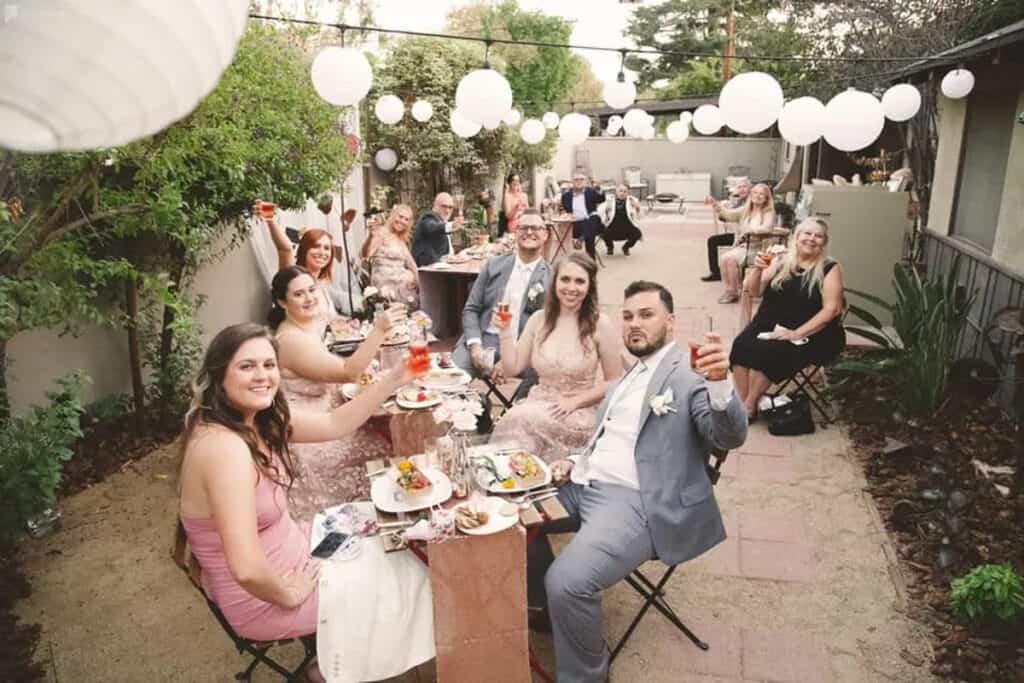 boho garden cheap wedding venues los angeles