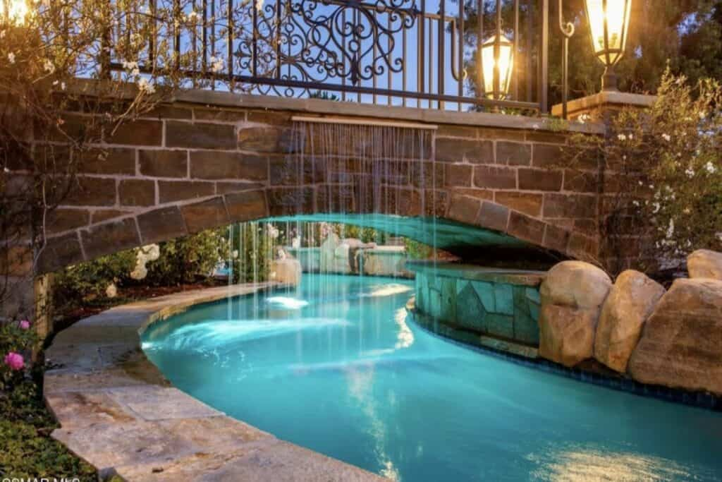 stunning estate with lazy river