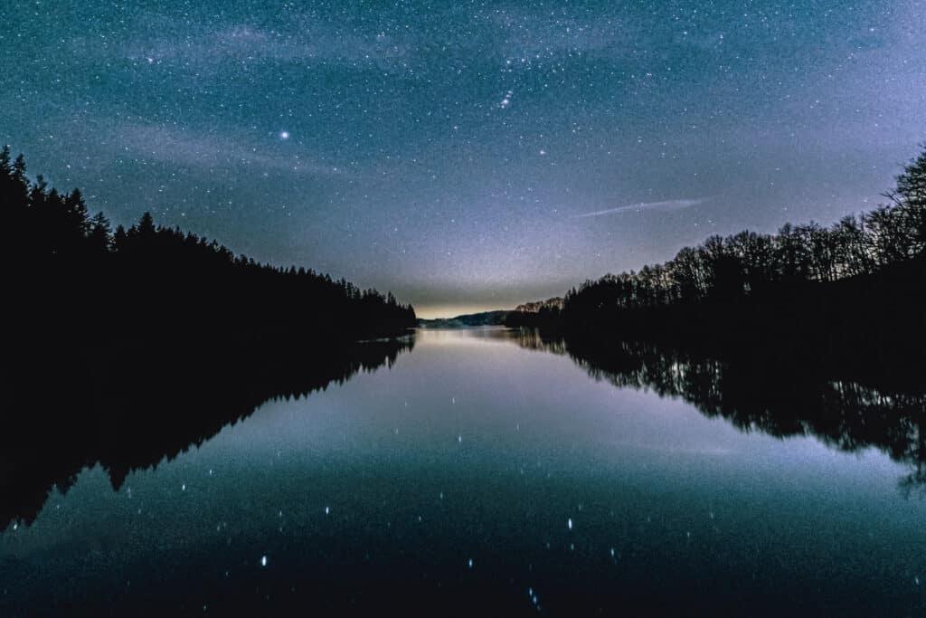 high iso nighttime photography