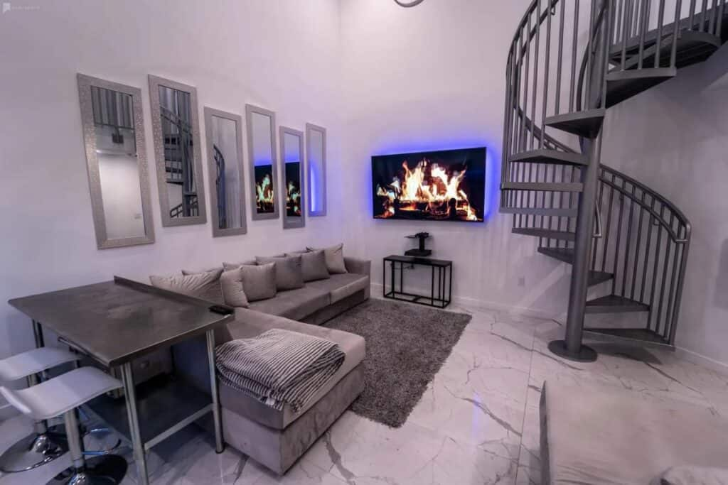 modern and sultry miami rental