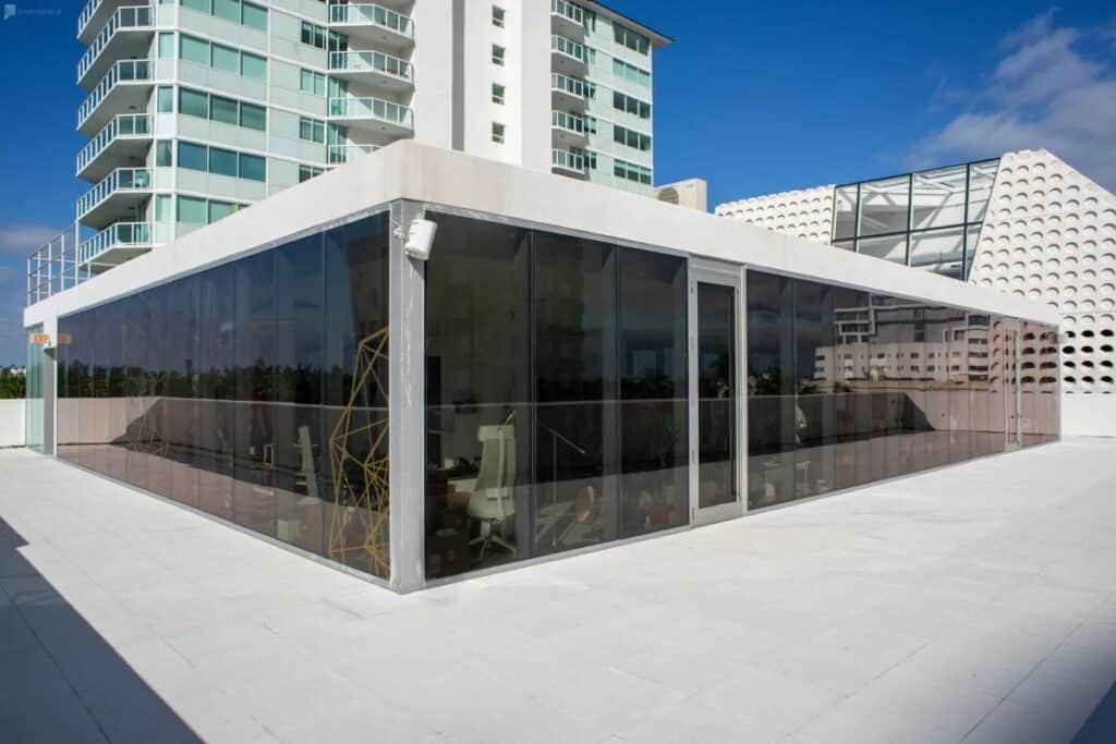 miami penthouse with patio