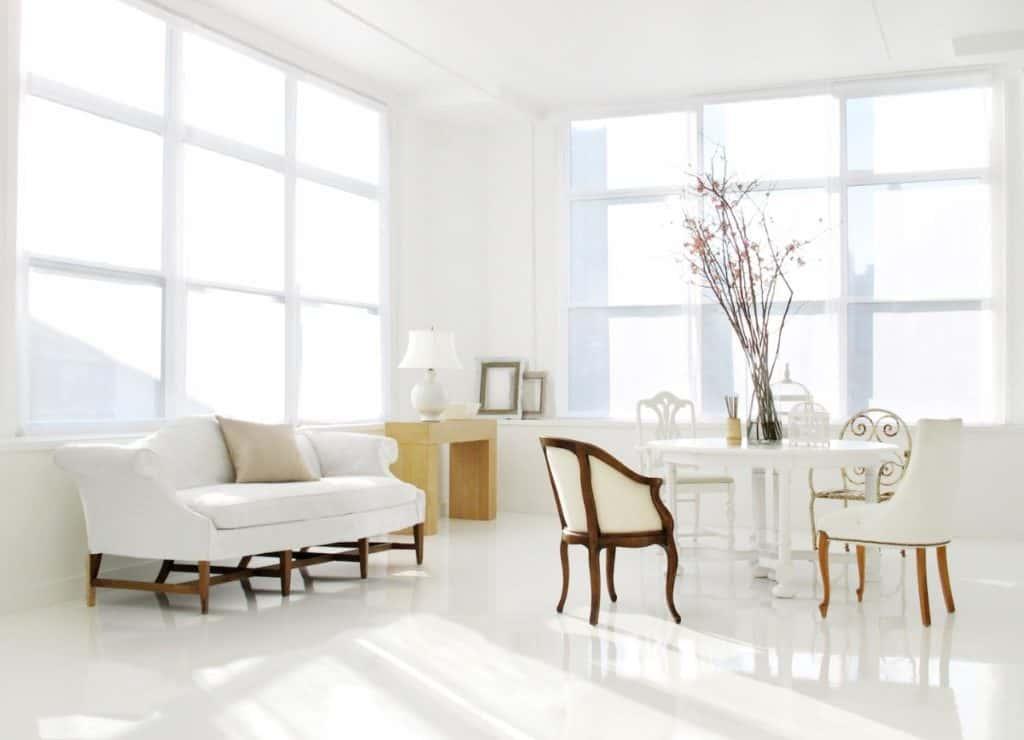 modern and minimalist Hudson Yard loft nyc new york city rental