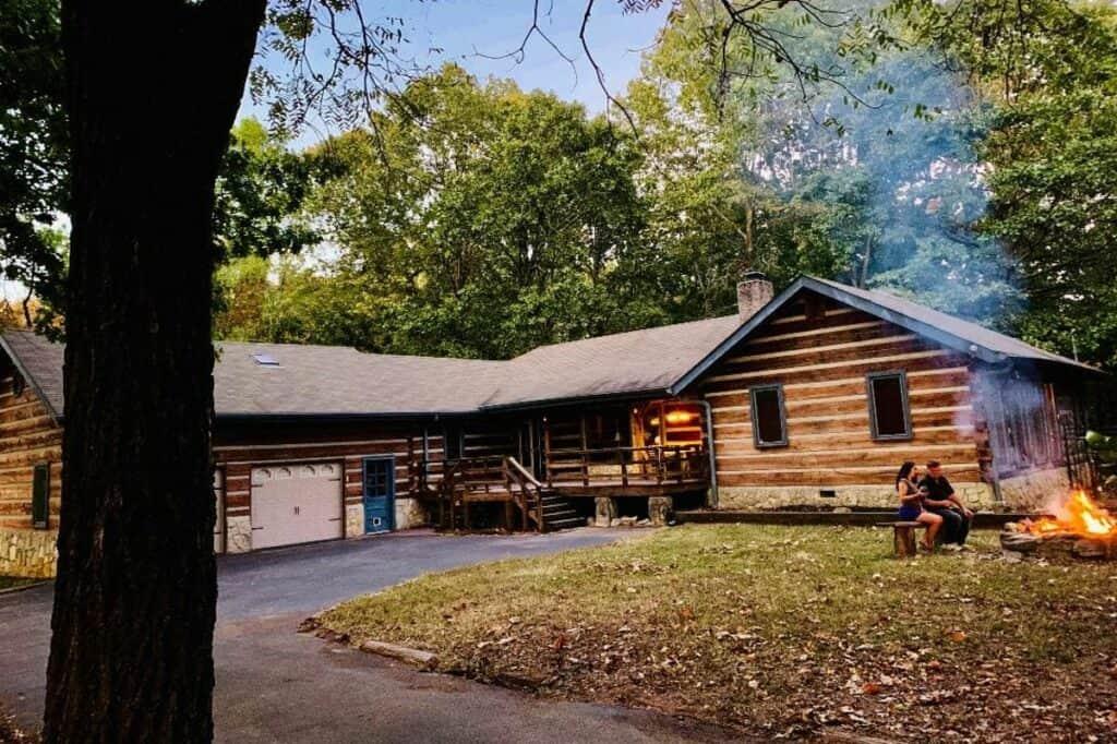 aspen-style cabin in nashville men's retreat ideas