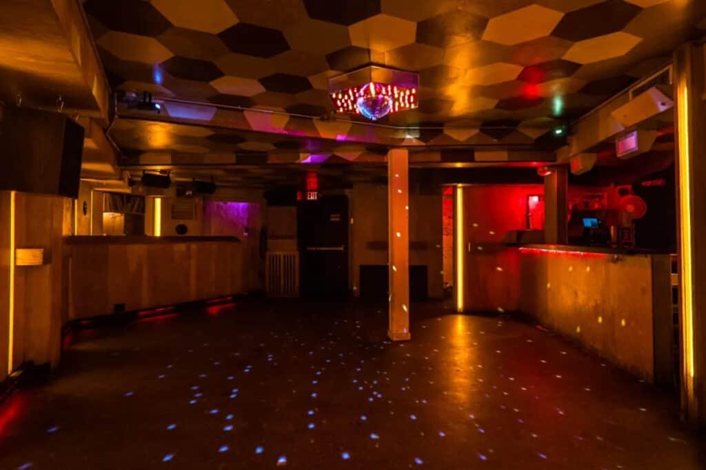 basement disco club in brooklyn