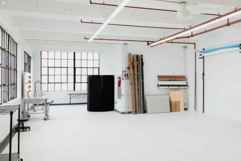 spacious and classic studio space