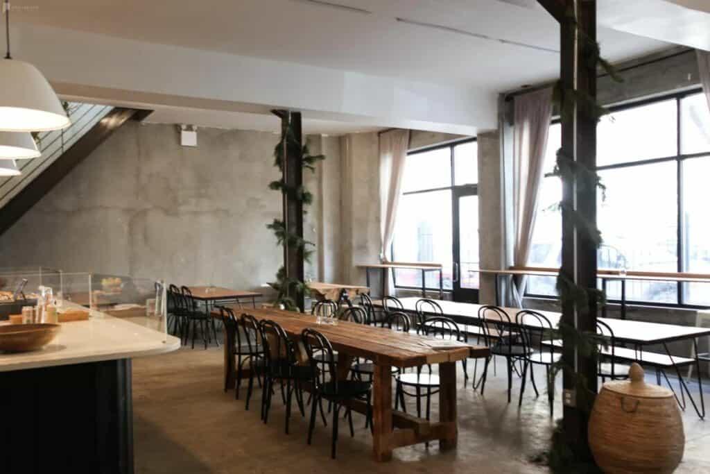 cozy cafe virtual christmas party ideas