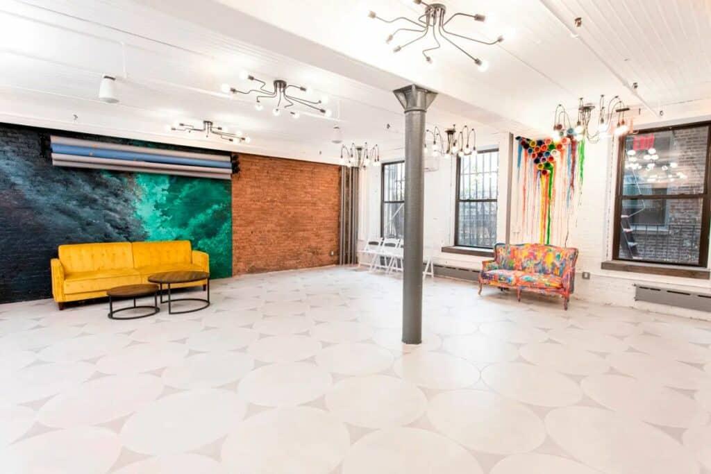 spacious, versatile LES loft