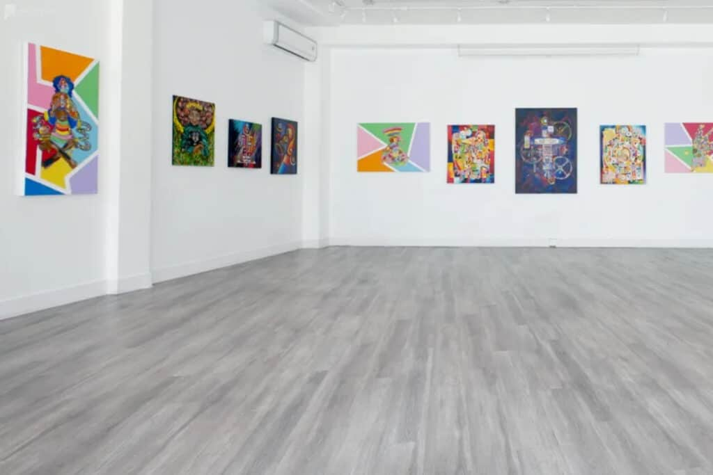 creative space gallery in oakland