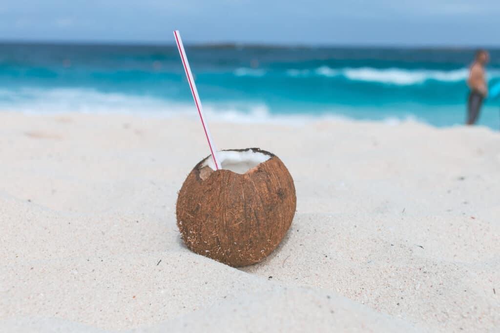 fresh coconut, moana
