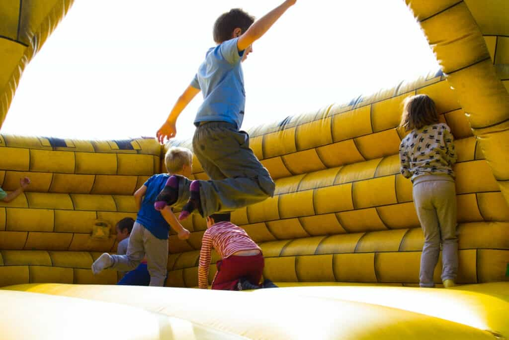 bounce house kids party
