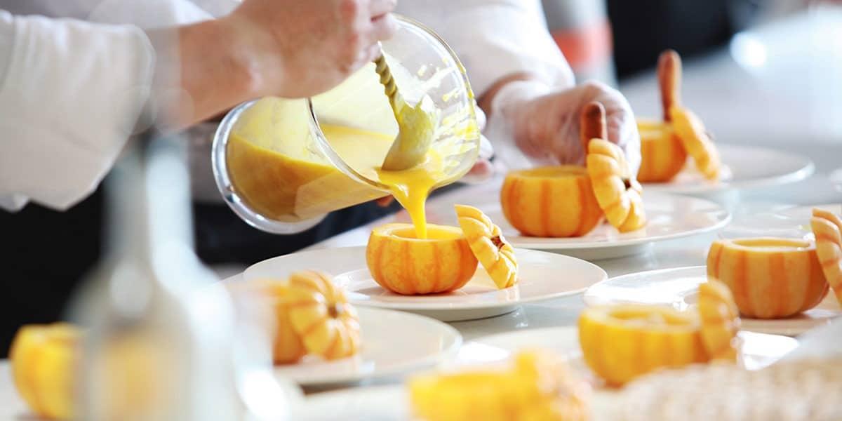 pumpkin soup catering