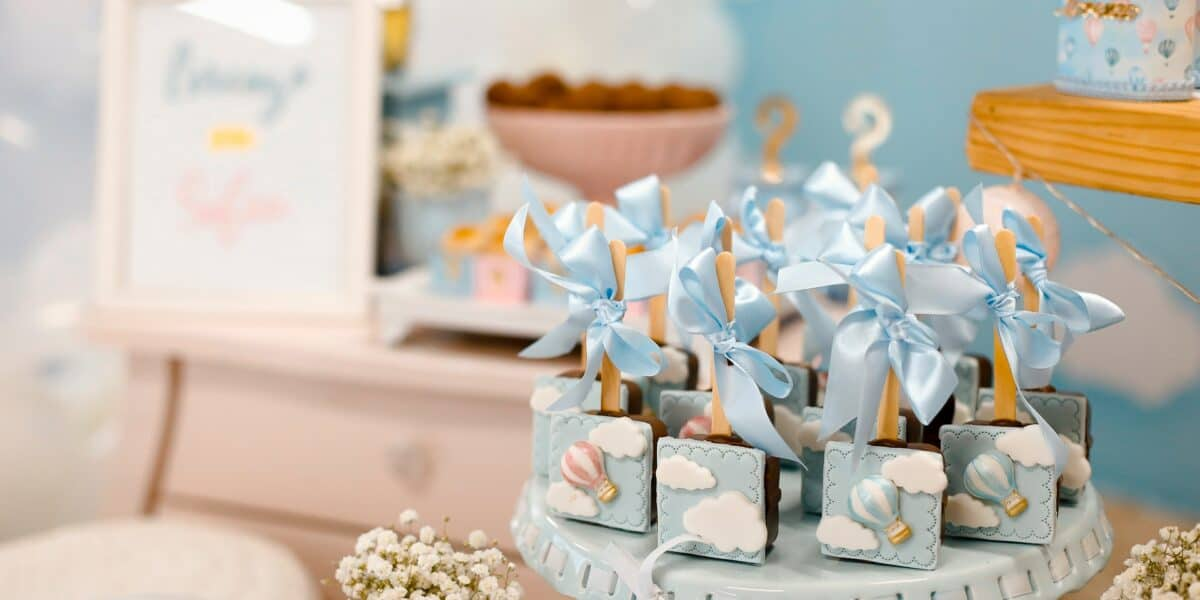 gender reveal party favors