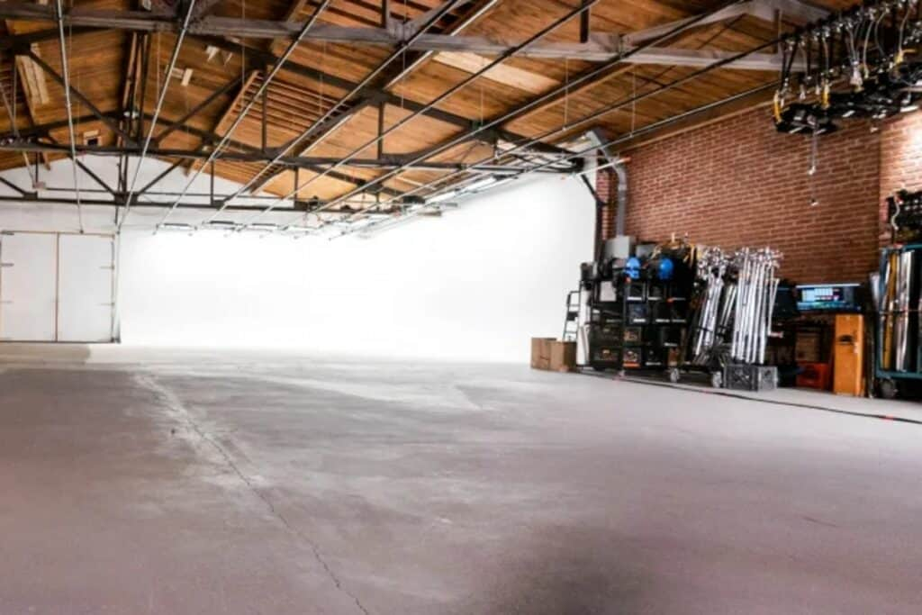 huge and versatile industrial warehouse