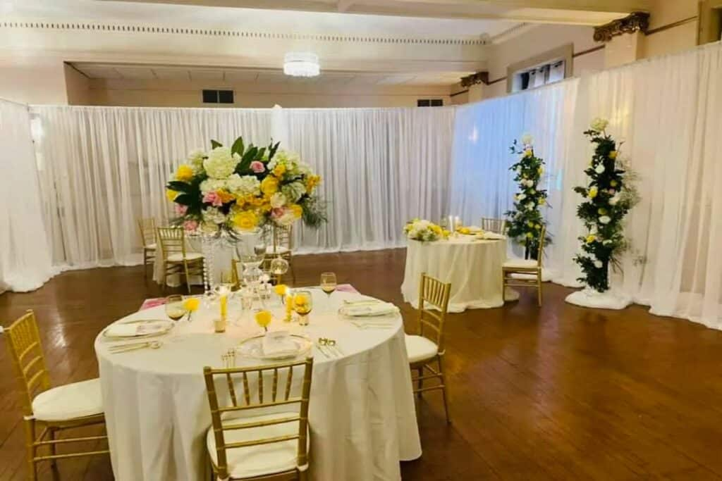 traditional and elegant venue