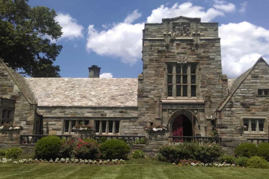 1920s medieval castle in philly