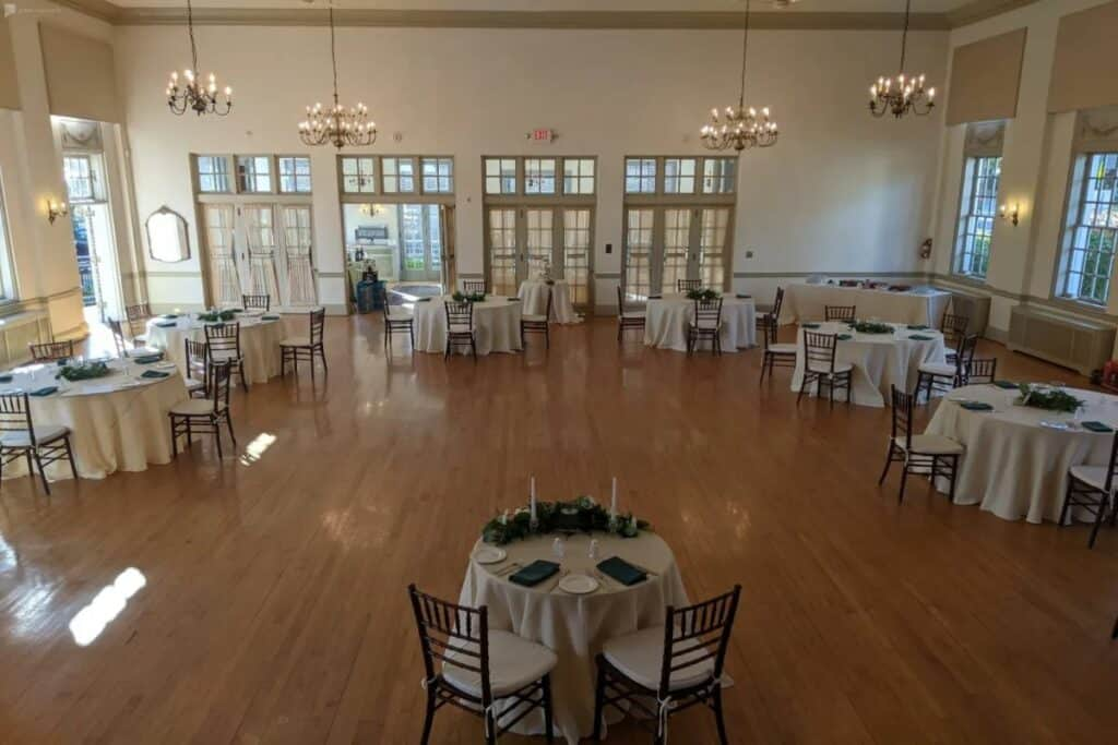 refined and classic ballroom