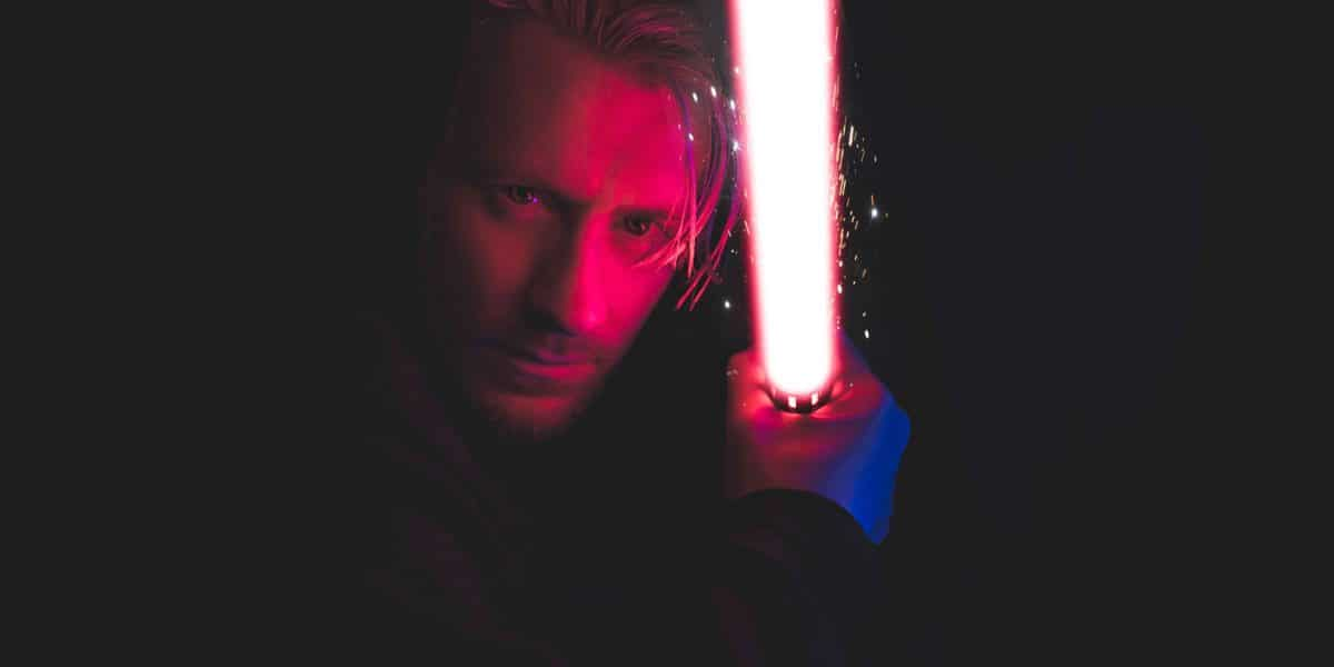 vfx visual special effects lightsaber