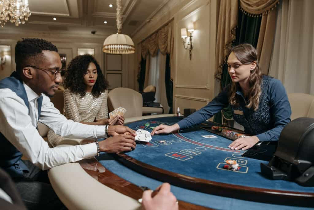 professional dealer for poker night party