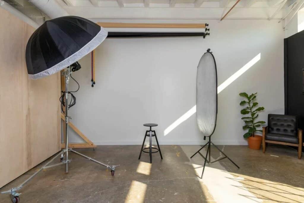 san antonio photo studio with equipment