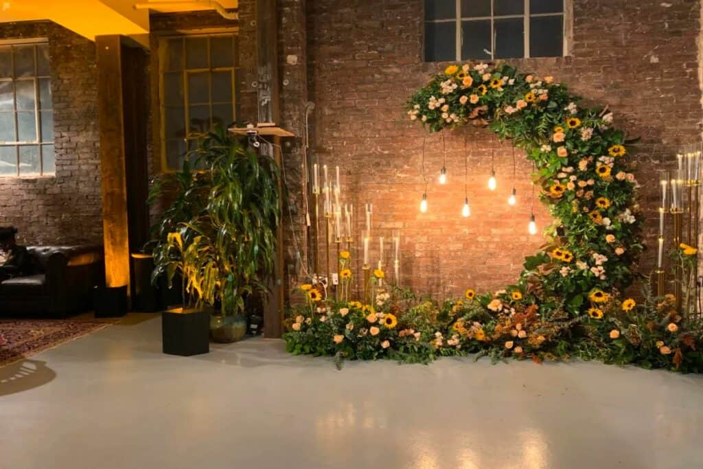 industrial gallery and event space