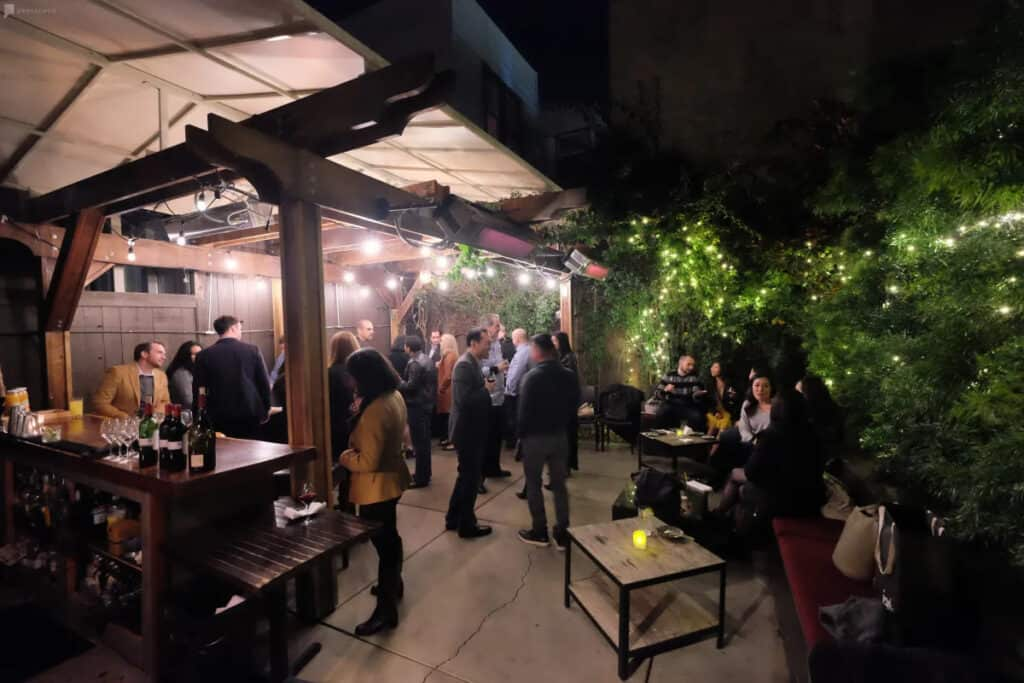 outdoor bar rental in san francisco