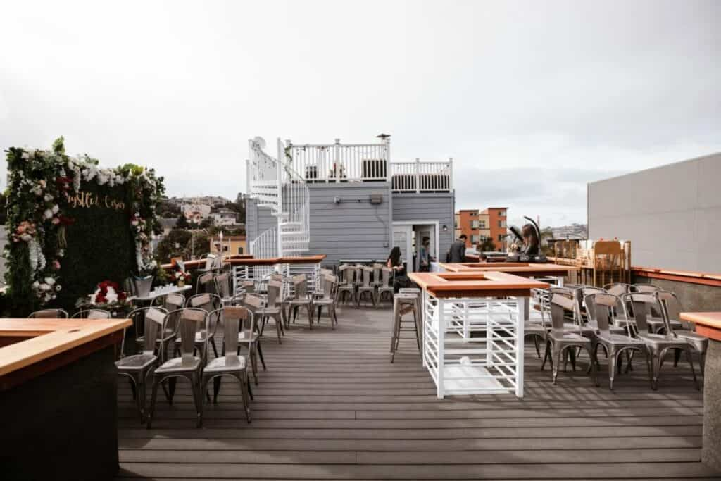 haven with tiered decks and panoramic views