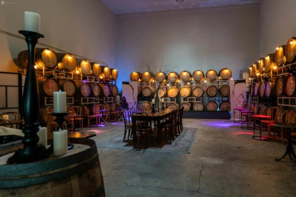stunning winery in mission district