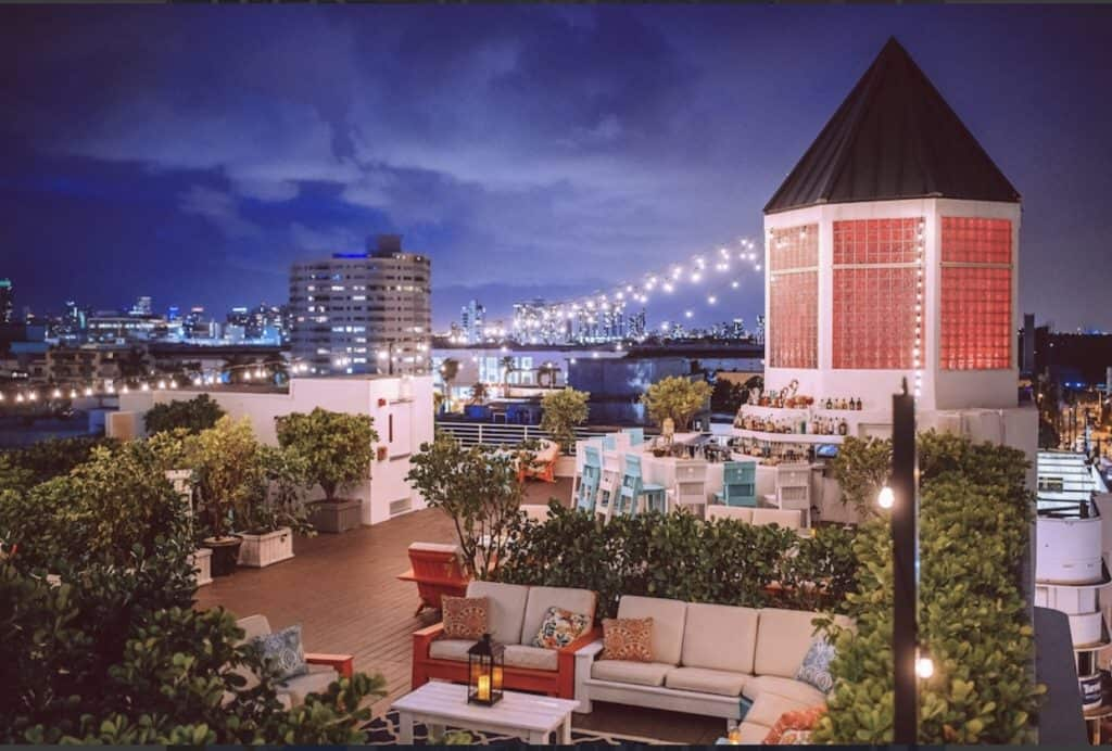 south beach rooftop miami rental