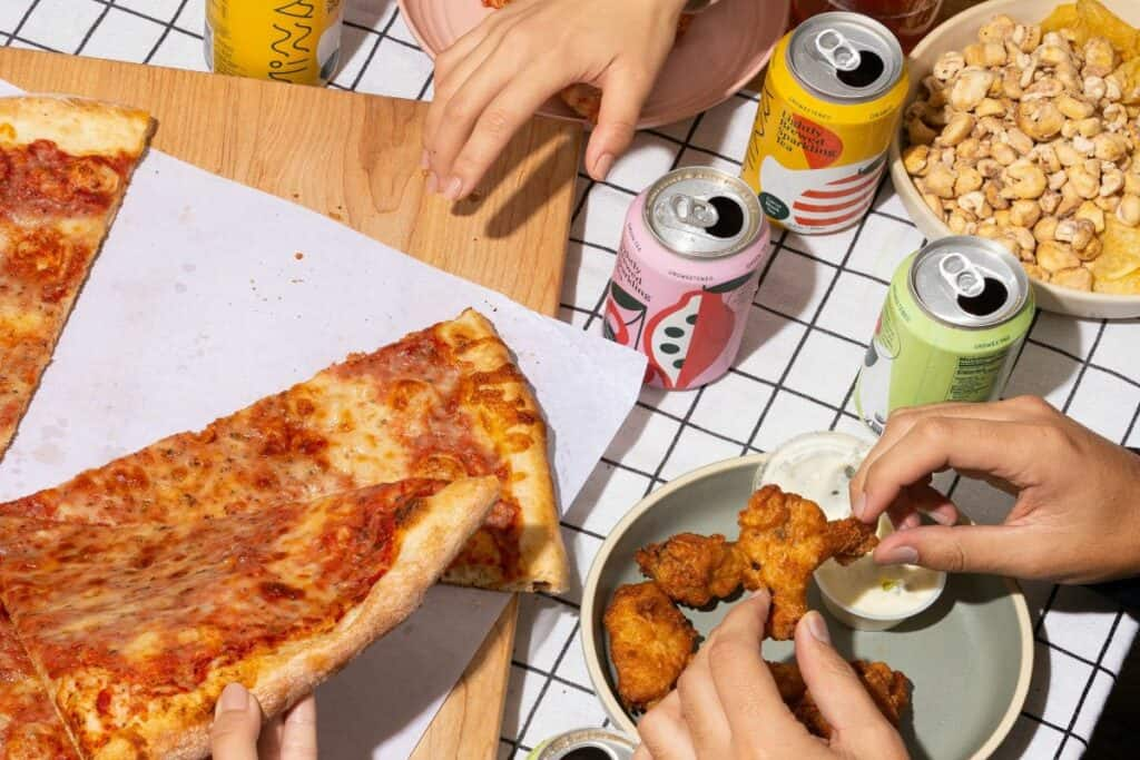party food pizza teen party