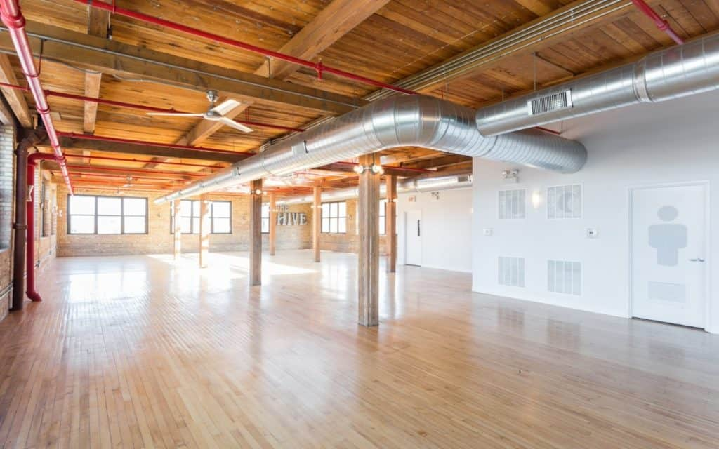 the hive brick and timber warehouse chicago rental