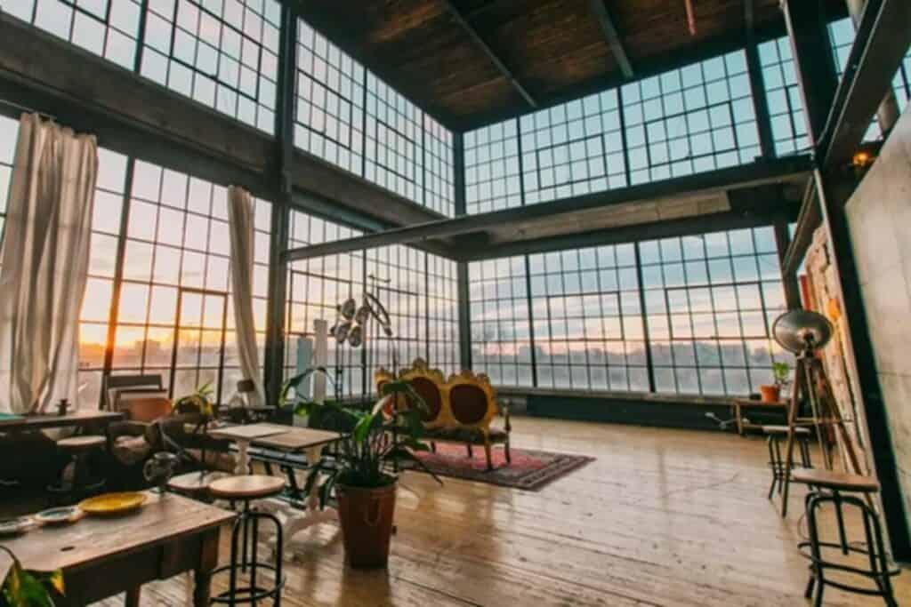 renovated warehouse in toronto