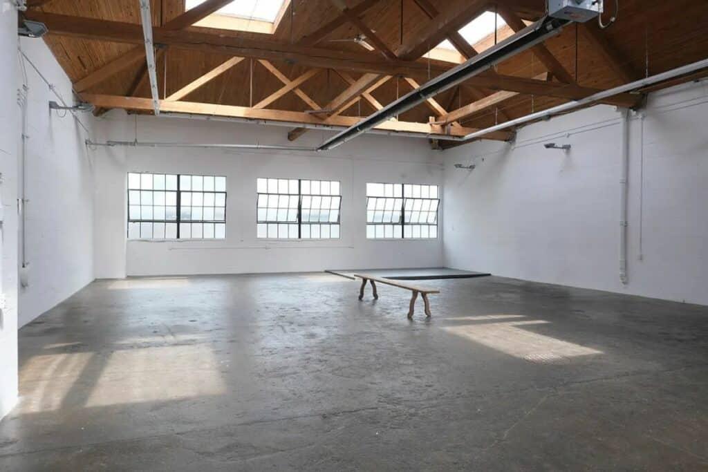 spacious industrial warehouse