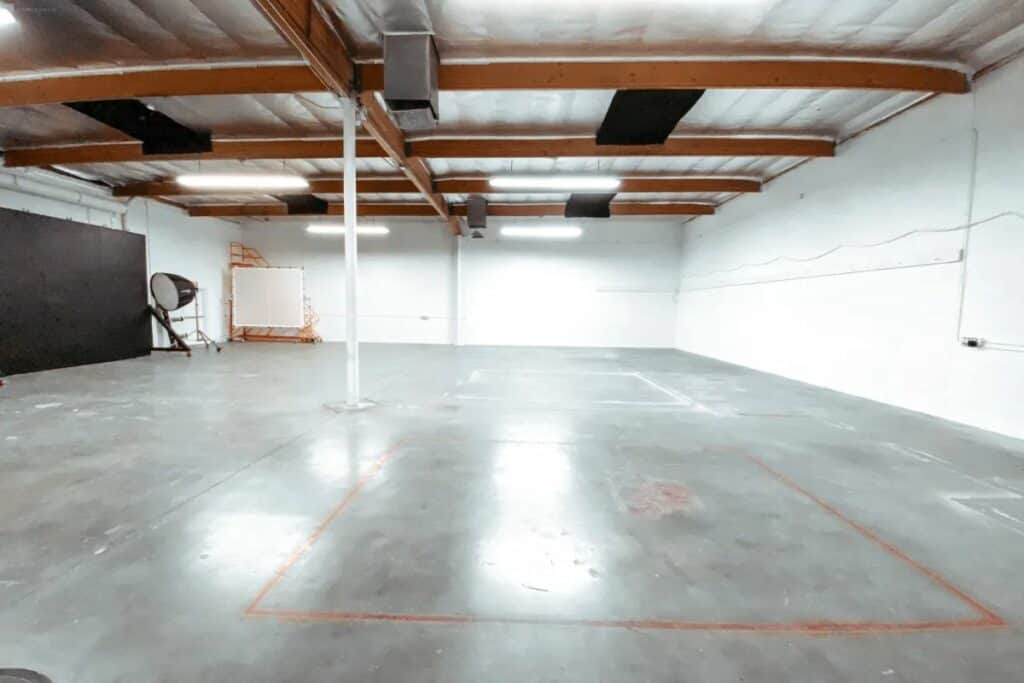 large industrial event space