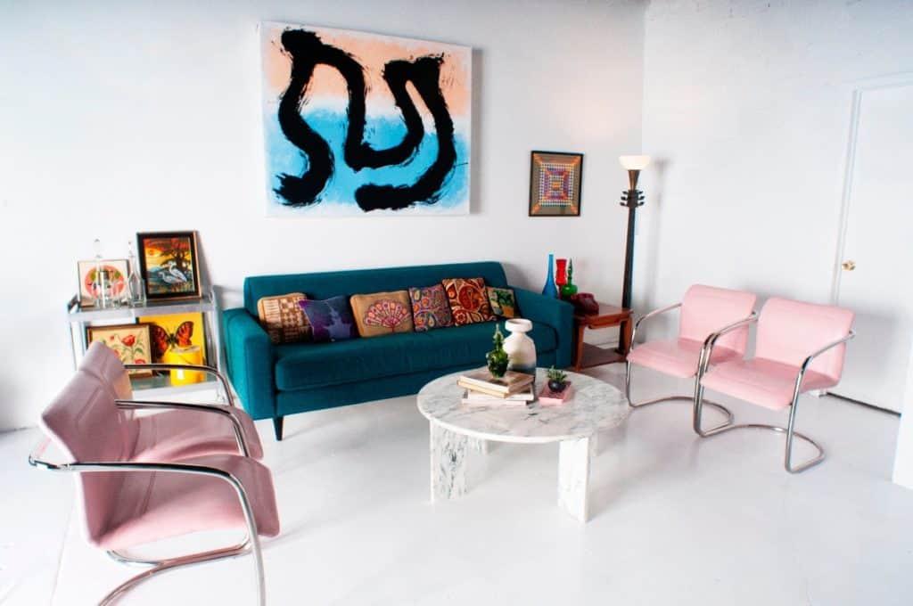 west town loft and studio vintage decor chicago rental